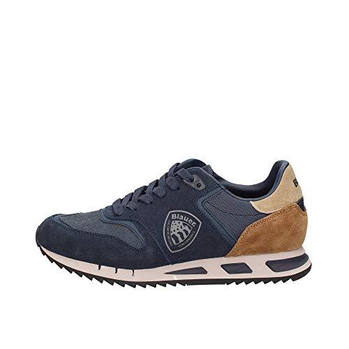 Blauer Uomo Sneakers Suede Blu MOD. MEMPHIS06SUE 40