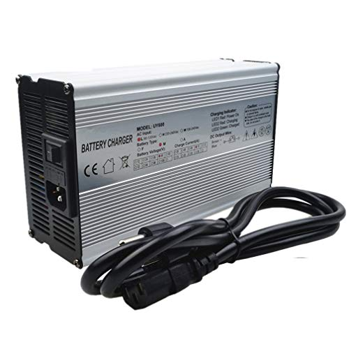 48V Charger 54.6V 10A Charger 48V 13S Li-ion Battery Charger 48V Lithium Charger Fast Charger For 48V E-bike motorcycle Battery Charger with Anderson Connector (54.6V 10A charger)