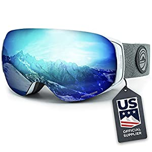 Wildhorn Roca Snowboard & Ski Goggles – US Ski Team Official Supplier – Interchangeable Lens – Premium Snow Goggles