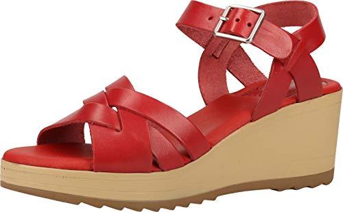 Sandalias para mujer Widjik de Kickers, color Rojo, talla 36 EU