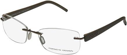3a6320535da Porsche Design Rx Eyeglasses Frames P8209 A S2 52x16 Light Brown Made in  Italy