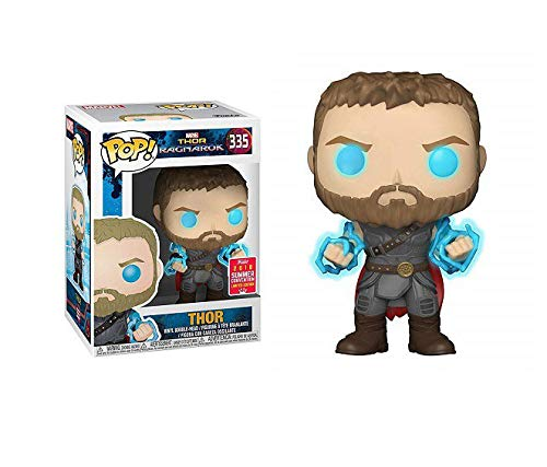 Yesjoy POP!10 cm Marvel Ragnarok Thor with Odin Force Collectible Figure
