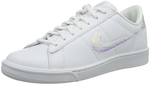 Nike Wmns Tennis Classic PRM, Zapatillas de Tenis para Mujer, Gris (Gris (Wolf Grey/White-Wolf Grey), 40 EU