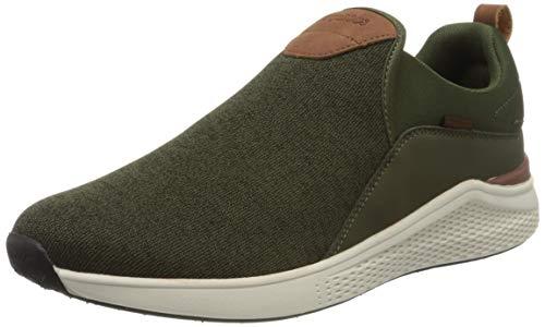 KangaROOS Herren KA-Strip Sneaker, Grün (Olive 8012), 46 EU