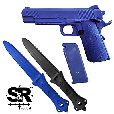 S&R Tactical - Training Gun and Knife Combo Pack 1911 (Combo)