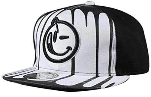 Belsen Kind habgierig Hip-Hop Cap Baseball Kappe Hut Truckers Hat (Tuch weiß)