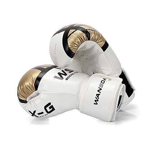 Boxhandschuhe, Trainingshandschuhe Für Boxtraining, Kampfsport, MMA, Sparring Und Kampf Mit Optimaler Stoßdämpfung (D,6oz)