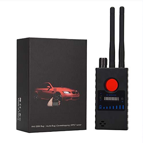 ICENCREN Anti-Spy-Detektor RF-Signal-Detektor GSM-Gerät Finder Radio-Scanner GPS Wireless Signal Alarm Scanner Verstecktes RF Signal Kamera