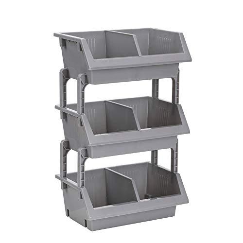 Wandplank, kleine badkamerplank, geschikt voor desktop meerlagig kleine keuken multifunctionele kunststof badkamer puin opbergrek
