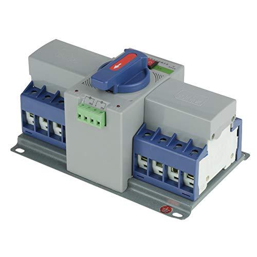 Changor Interruptor de Transferencia Completo, 4000 (V) 220 V Potencia de transmisión de Larga Distancia Transferencia automática Plástico