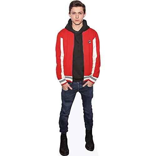 Celebrity Cutouts Tom Holland (Red Jacket) Pappaufsteller lebensgross
