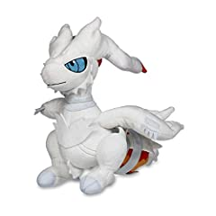 This sleek plush depicts Reshiram in its Overdrive mode with soft claws and a colorful tail flame—just what you'd expect from a Legendary Pokémon from Unova!