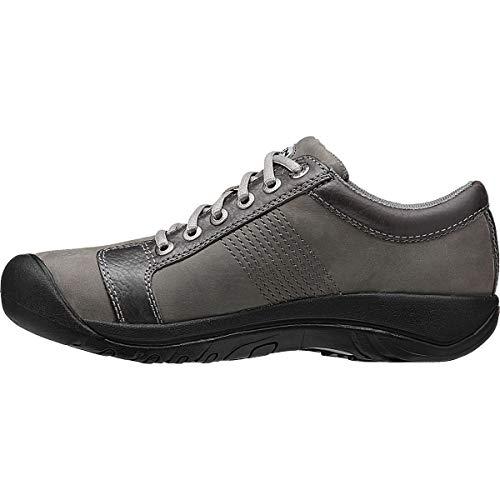 KEEN Men's Austin Hiking Shoe, Gargoyle/Neutral Gray, 11.5 M US