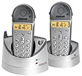Audioline 5400 TECH Bundle schnurlos Telefon mit Display