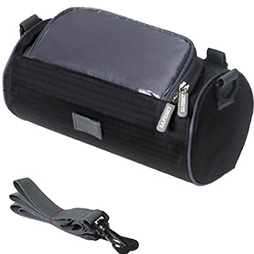 Great Features Of TINTON LIFE Waterproof Bicycle Handlebar Bag with Transparent Pouch and Adjustable...