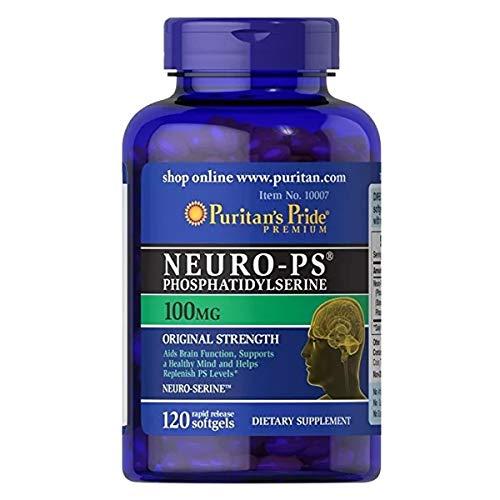 Neuro Ps Fosfatidilserina 100mg (120 SGels) Puritans Pride