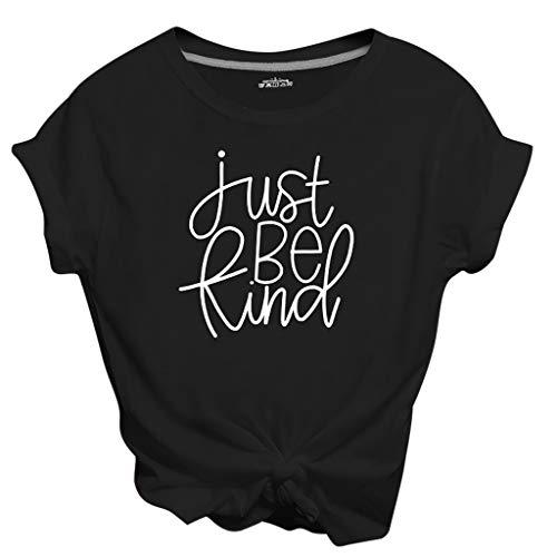 serliy😛Mode Damen Frauen Rundhals Brief gedruckt Spleiß Blusen Oberseiten Kurzarm T-Shirt Tops Pullover Blusentops Sommer Oberteile Frauen Casual Sportwear Shirts