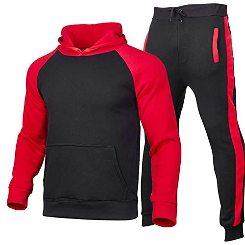 Suéter térmico de cuello alto con diseño de copo de nieve casual slim fit básico, rosso, L
