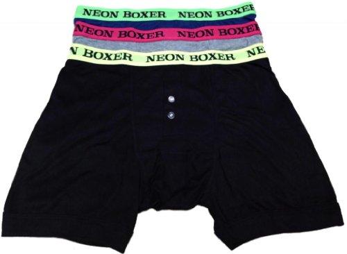 Socks Uwear - Boxer - Boxers - Homme - Noir - Noir - Large