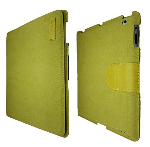 B MOBILE Funda para iPad 2/3 / 4 Verde. (Tipo GAMUSA) Ultra Ligera.