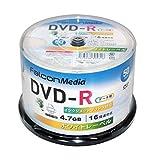FalconMedia 1回記録(データ)用 DVD-R BE031 (片面1層/1-16倍速/50枚)