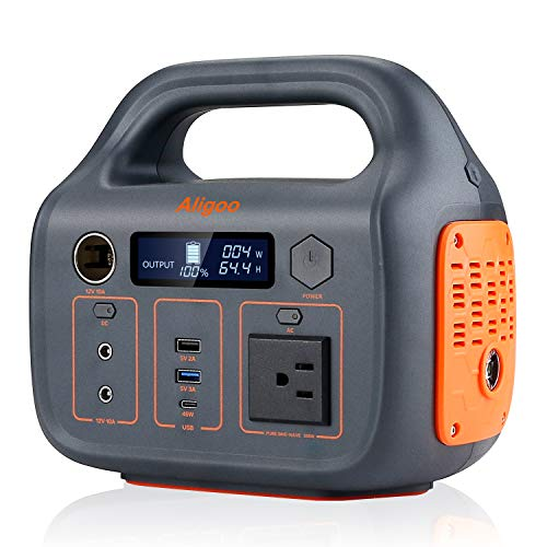 110v/300Watt Portable Power Station w/ AC/DC Outlet Now $148.49