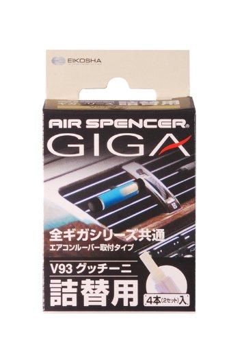 eikosha Fahrzeuge für Deo Air Spencer Giga Druckerpatrone V93Klimaanlage Montageart Refill gutchini 18g 56933