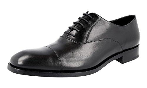 Prada Herren Schwarz Leder Business Schuhe 2EB121 45 EU/UK 11