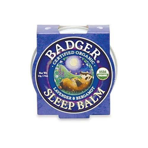 Badger Balm Sommeil (Lavande et bergamote) [0,75 oz Tin]