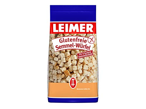 Leimer Glutenfreie Semmelwürfel - Knödelbrot, 175 g