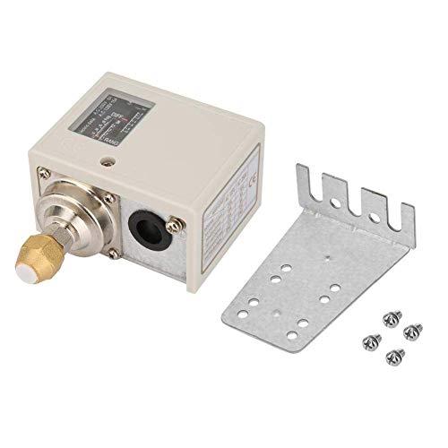 MOZUSA Interruptor de presión, Controlador de presión de presión de la Bomba de Agua electrónica de 24V-380V del Controlador de presión del Controlador de presión del compresor Instrumentos