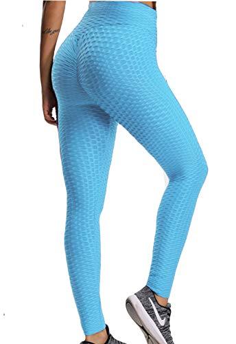 FITTOO Mallas Pantalones Deportivos Leggings Mujer Yoga de Alta Cintura Elásticos y Transpirables para…