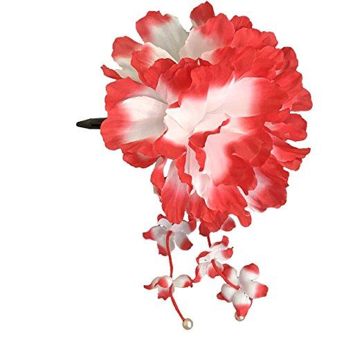 [粋花] Suika フラワークリップ 7062 赤