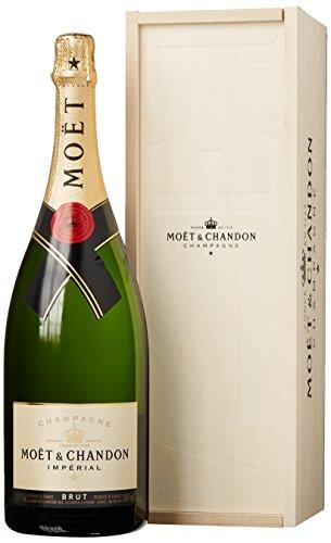 Moet & Chandon Brut Imperial Magnum in Holzkiste Champagner (1 x 1.5 l)