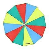 WINOMO Bunt Schwungtuch Fallschirm Parachutes Spielzeug Kinder Familie Zelten Fallschirmspiel Indoor...