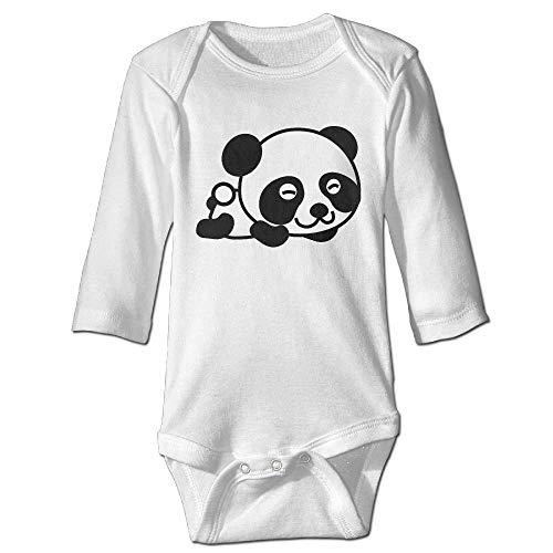 HFJFJSZ Little Panda Newborn Cotton Jumpsuit Romper Bodysuit Onesies