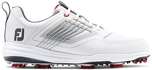 Footjoy Męskie buty golfowe Fury, biały - Weiß Blanco Rojo 51100m - 44 EU