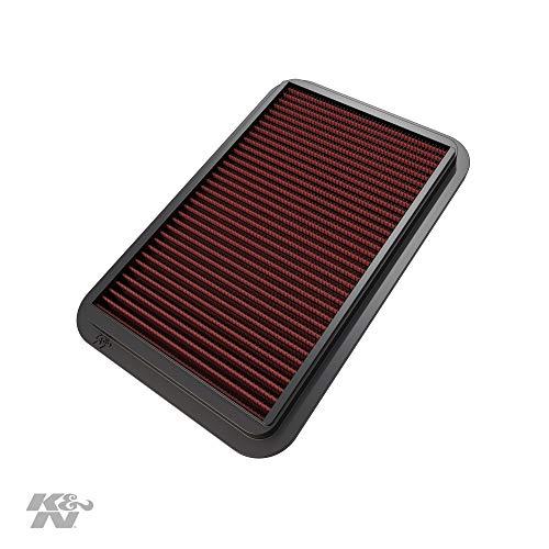 K&N 33-2676 Motorluftfilter: Hochleistung, Prämie, Abwaschbar, Ersatzfilter, Erhöhte Leistung, 1991-2005, Miata Mazdaspeed, MX 5 II, Roadster, 626 V, Capella, Probe