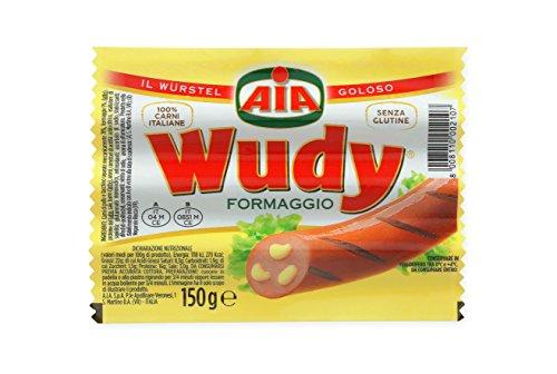 Wurstel Wudy Formaggio AIA 150gr