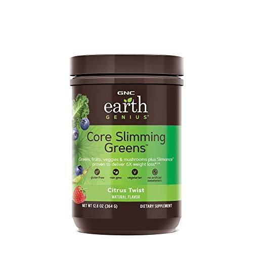 GNC Earth Genius Core Slimming Greens, Citrus Twist, 28 Servings