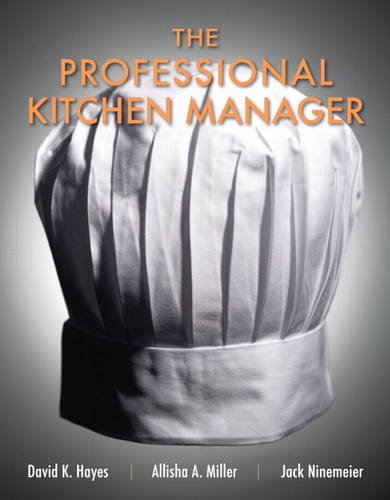 Professional Kitchen Manager, The