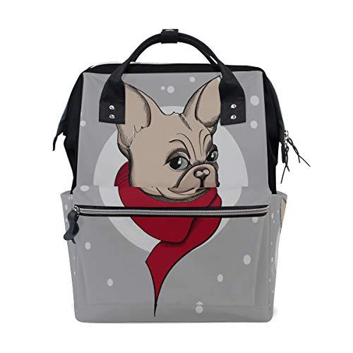 Pupply Naughty Pet Perro activo Bolsas de pañales de gran capacidad Mamá Mochila Múltiples funciones Bolso de lactancia Bolso Tote Bolso para niños Cuidado del bebé Viaje diario Mujeres