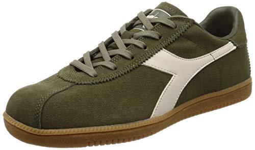 Diadora Tokyo, Sneaker Unisex-Adulto, Multicolore (Bianco/Verde Oliva Bruciato C4600), 40 EU