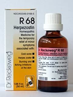 Dr. Reckeweg, Herpezostin R68 50 ml by Dr. Reckeweg