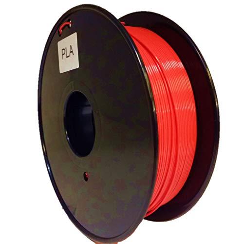 3D Printer Filament PLA 1.75mm Red - UK Stock - Quick Dispatch (1m(Coil))