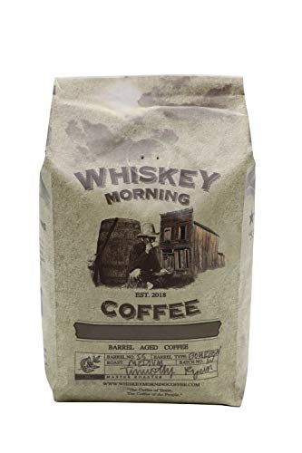 Whiskey Morning Coffee: Fire Roasted, Whiskey Infused, Small Batch Coffee (Ground)