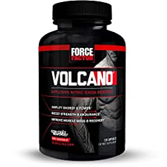 BUILD MUSCLE & STRENGTH: VolcaNO is a nitric oxide booster that delivers more strength, more lean muscle, and more vascularity. It's a fast, efficient way to boost nitric oxide and increase muscle mass through science, not sweat. BOOST ENERGY & ENDUR...