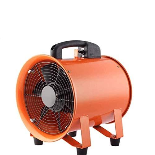 STRAW Ventilador portátil de Flujo, Sellado axial del Motor de Aire Industrial Mover, soplador, eliminación de Polvo Industria del Ventilador 12 En