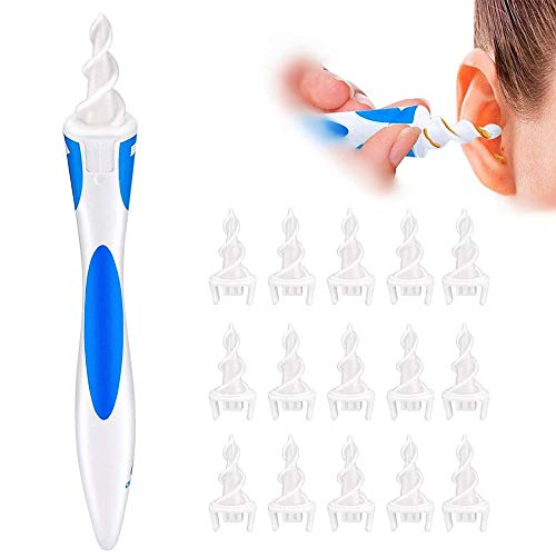 Ear Wax Remover Ear Cleaner, Q Grips Ear Wax Cleaners Soft...