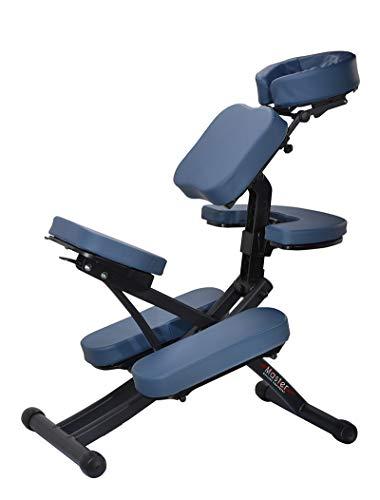 Master Massage Rio Portable Massage Chair - Royal Blue